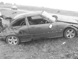 Nehoda mezi Vracovem a Bzencem.